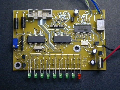 Digital Audio Monitor populated PC Board